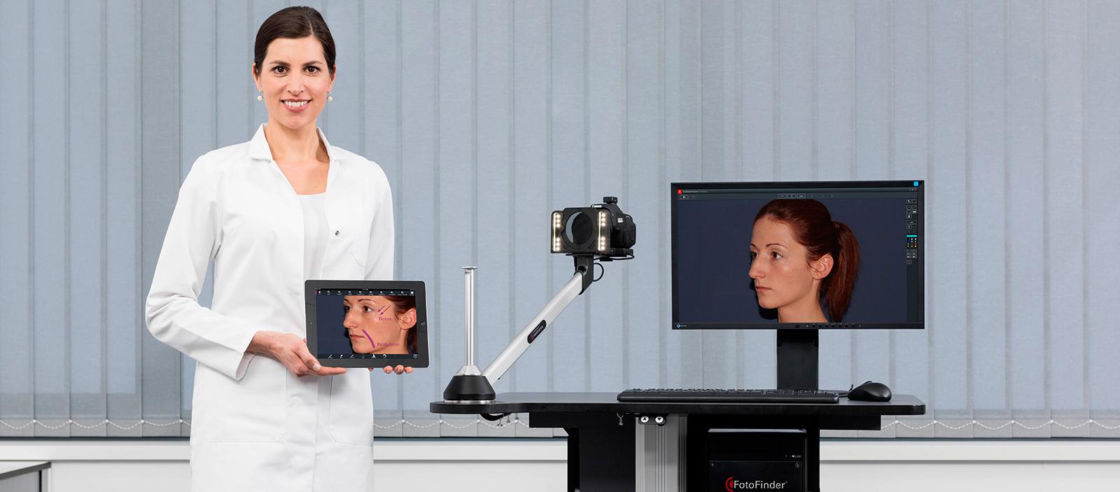 equipo análisis facial